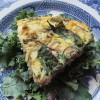 End-of-the-week Greens Rice Pie